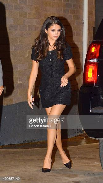 Selena Gomez seen after leaving the NBC Studio on October 14 2015 in New York City