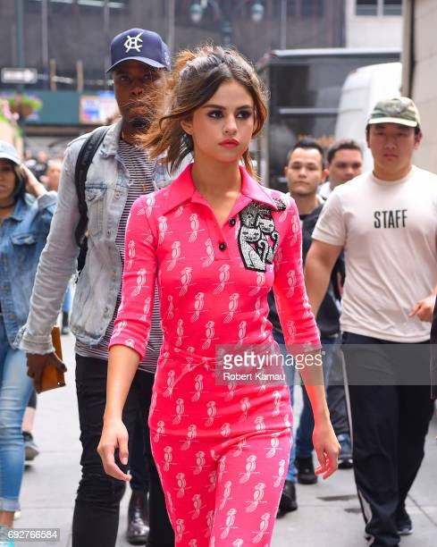 Selena Gomez seen out in Manhattan on June 5 2017 in New York City