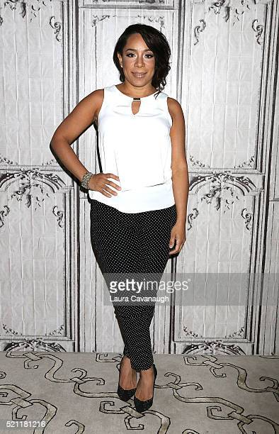 Selenis Leyva attends AOL Build Speaker Series to discuss 'Custody' at AOL Studios In New York on April 14 2016 in New York City