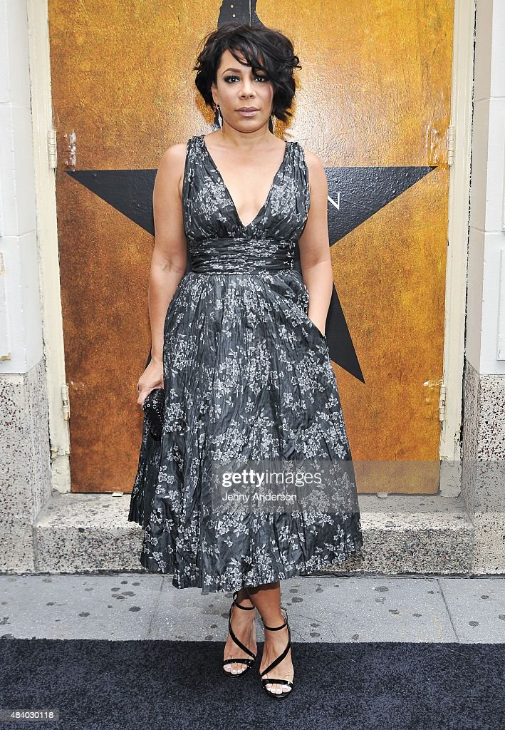 Selenis Leyva attends 'Hamilton' Broadway Opening Night at Richard Rodgers Theatre on August 6, 2015 in New York City.
