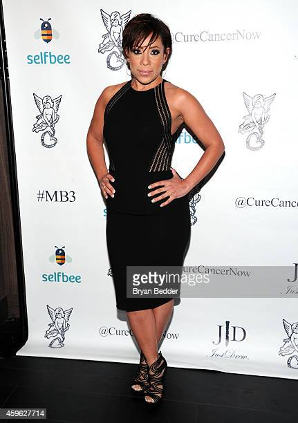 Selenis Leyva attends Millennial Ball 30 To Benefit Gabrielle's Angel Foundation for Cancer Research on November 26 2014 in New York City