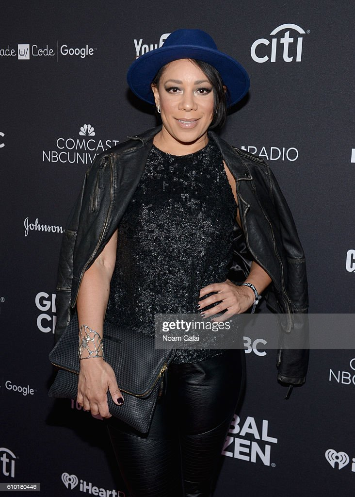 Selenis Leyva attends the 2016 Global Citizen Festival In Central Park To End Extreme Poverty By 2030 at Central Park on September 24, 2016 in New York City.