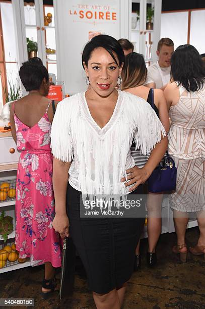 Selenis Leyva attends the Cointreau X Danielle Jodie Snyder of Dannijo Soirée at Cedar Lake on June 15 2016 in New York City