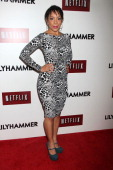 Selenis Leyva attends the 'Lilyhammer' season 2 premiere at NYIT Auditorium on November 19 2013 in New York City