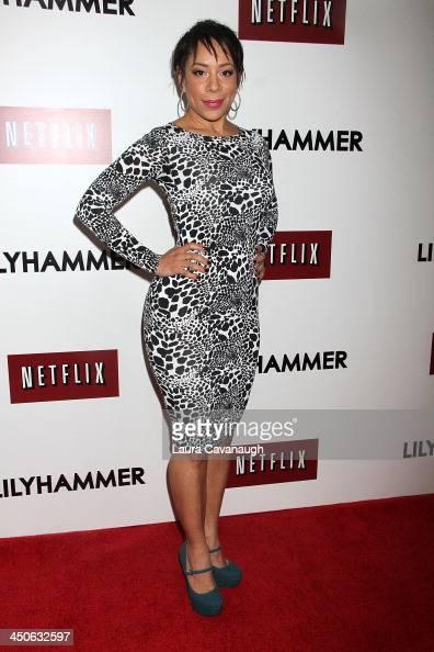 Selenis Leyva attends the 'Lilyhammer' season 2 premiere at NYIT Auditorium on November 19 2013 in New York City
