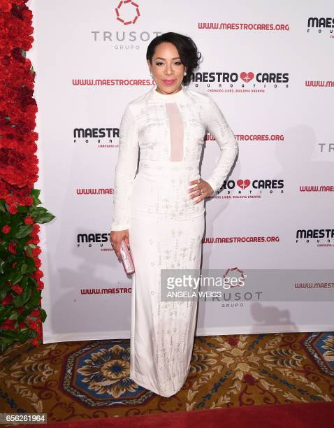 Selenis Leyva attends the Maestro Cares Foundation's 4th annual 'Changing Lives/Building Dreams' gala at Cipriani Wall Street on March 21 2017 in New...