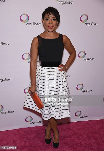 Selenis Leyva attends the Nuevas Latinas Living Fabulosa Event at The Times Center on March 25 2015 in New York City