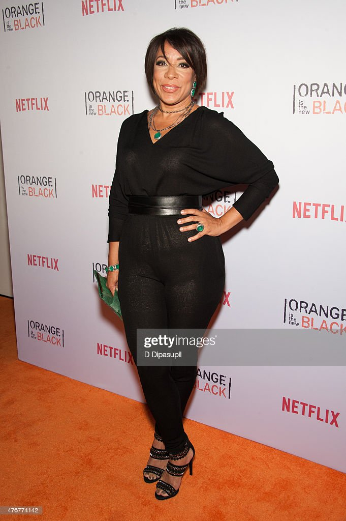 Selenis Leyva attends the 'Orangecon' Fan Event at Skylight Clarkson SQ. on June 11, 2015 in New York City.