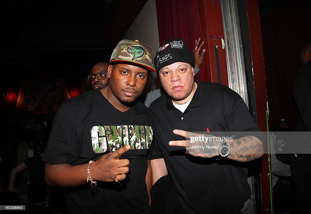 DJ Self and James 'Bimmy' Antney attend Waka Flocka's 'Thank You To Hip Hop' concert at BB King on February 21, 2013, in New York City.