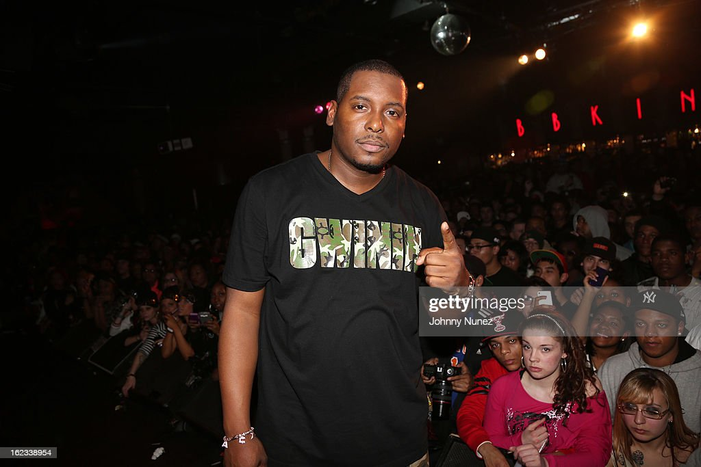 DJ Self attends Waka Flocka's 'Thank You To Hip Hop' concert at BB King on February 21, 2013, in New York City.