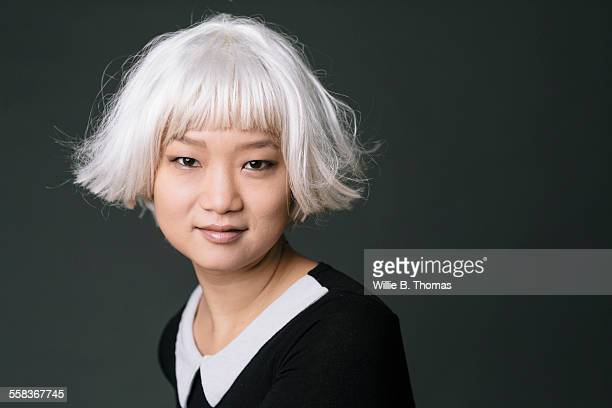 Self-confidence Asian woman