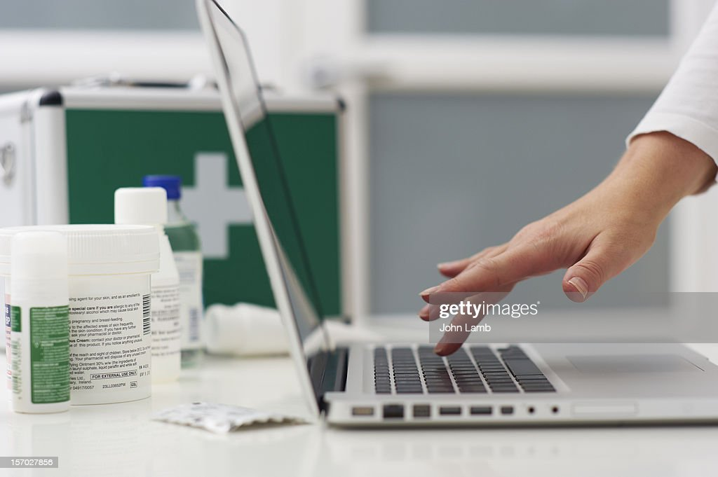 Self-Diagnosis : Stock Photo