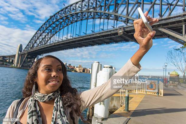 Selfie Aboriginal Woman