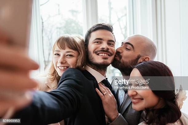 Selfie At Gay Wedding