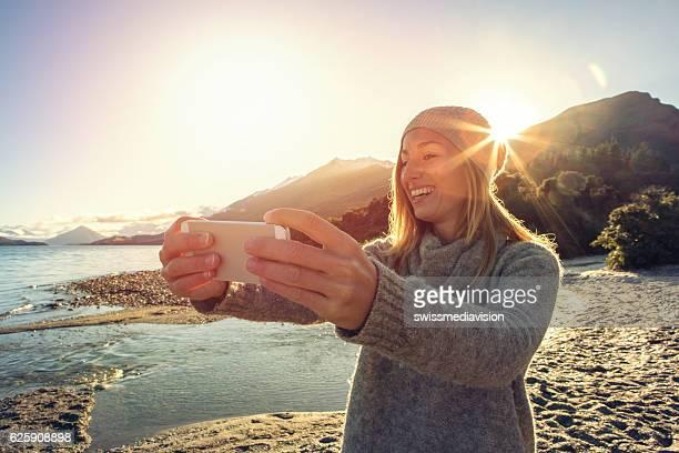 Selfie at sunrise