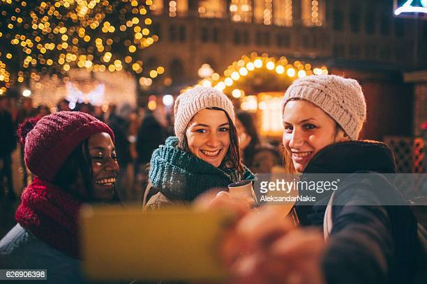 Selfie from Christmas market