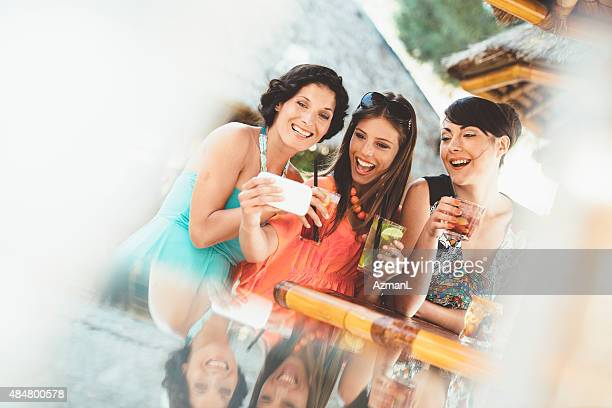 Selfie in a Bar