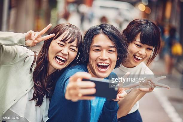 Selfie in Japan