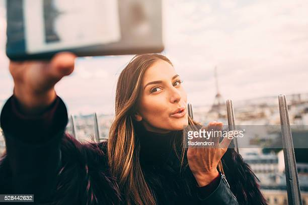Selfie in Paris