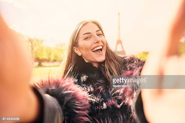 Selfie à Paris