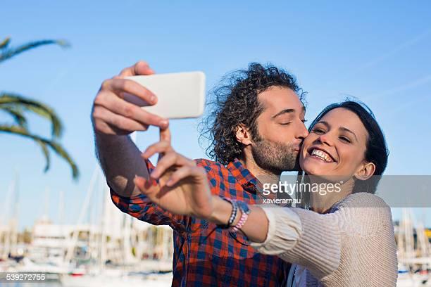 Selfie baiser