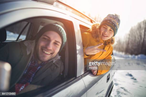 selfie sur le voyage
