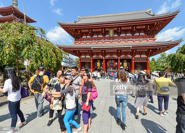 Asakusa Kannon Temple Stock Photos and Pictures  Getty Images