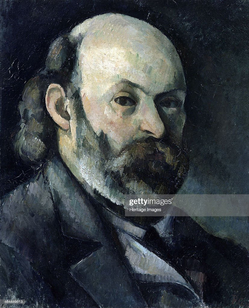 'Self-portrait', 1882-1885. Found in the collection of the State A Pushkin Museum of Fine Arts, Moscow.