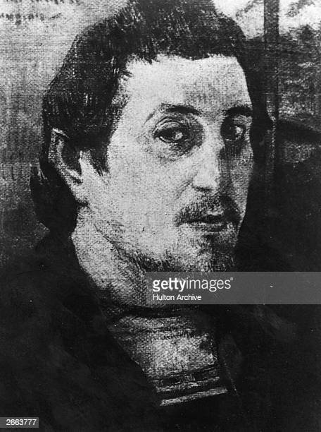 Selfportrait by the French painter Paul Gauguin