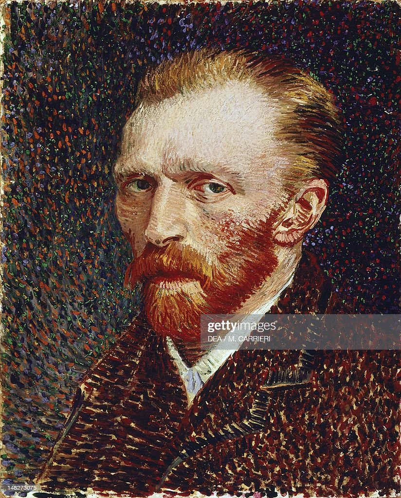 Self-Portrait, 1887, by Vincent van Gogh (1853-1890), oil on canvas, 42x34 cm. (Photo by DeAgostini/Getty Images); Chicago, Art Institute Of Chicago.