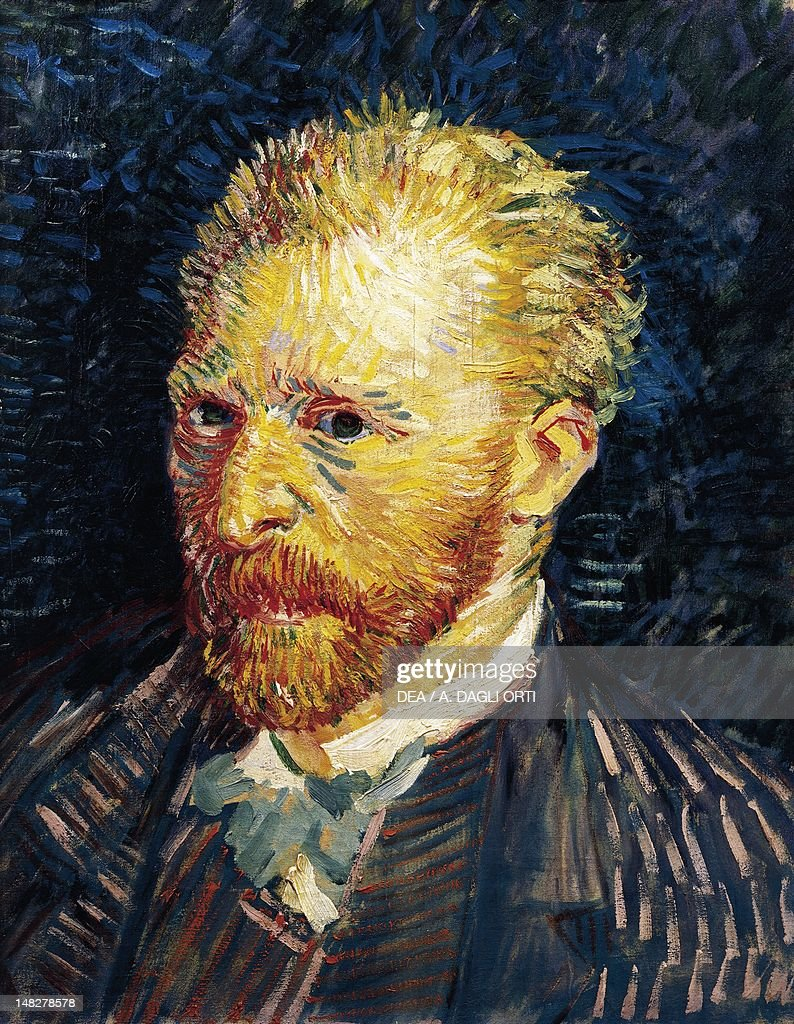 Self-Portrait, 1887, by Vincent van Gogh (1853-1890), oil on canvas, 44x35 cm. (Photo by DeAgostini/Getty Images); Paris, Musée D'Orsay (Art Gallery).