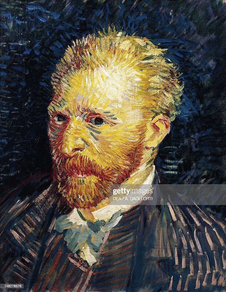 Self-Portrait, 1887, by Vincent van Gogh (1853-1890), oil on canvas, 44x35 cm. (Photo by DeAgostini/Getty Images); Paris, Musée D'Orsay (Art Gallery).