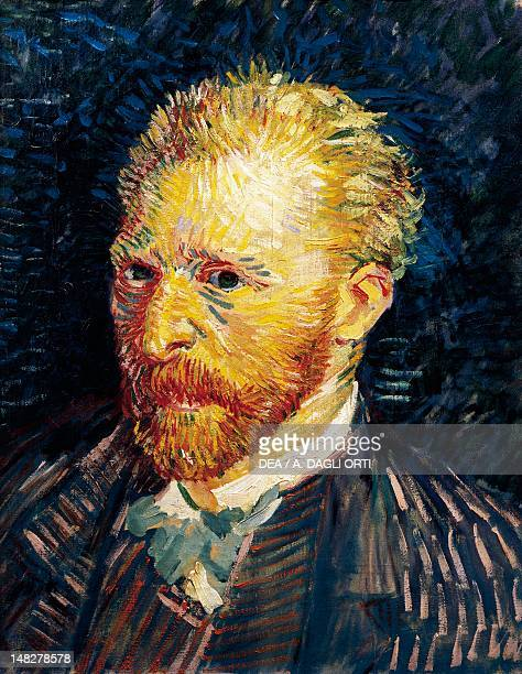 SelfPortrait by Vincent van Gogh oil on canvas 44x35 cm Paris Musée D'Orsay
