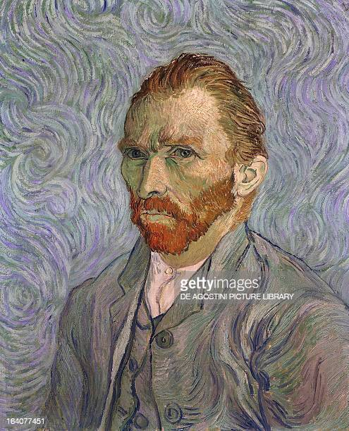 SelfPortrait by Vincent Van Gogh oil on canvas 65x54 cm Paris Musée D'Orsay