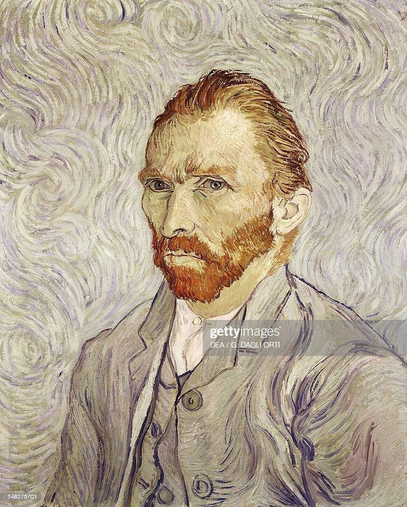 Self-Portrait, 1889, by Vincent van Gogh (1853-1890), oil on canvas, 65x54.5 cm. (Photo by DeAgostini/Getty Images); Paris, Musée D'Orsay (Art Gallery).