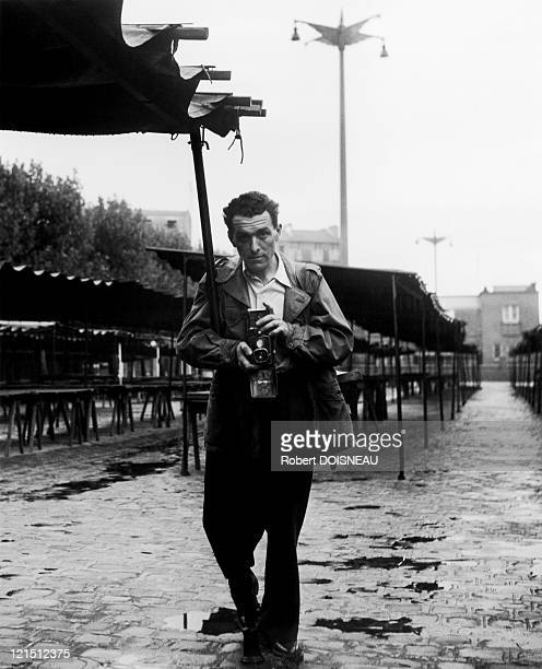 SelfPortrait Place Jules Ferry Montrouge 1949