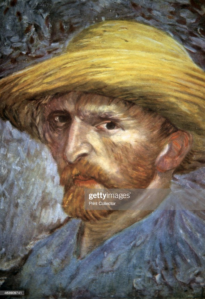 'Self-Portrait with Straw Hat', 1887.