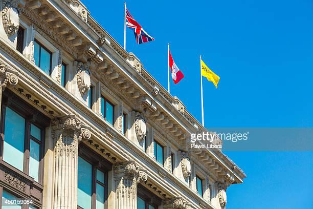 Selfridges Department Store on Oxford Street in London