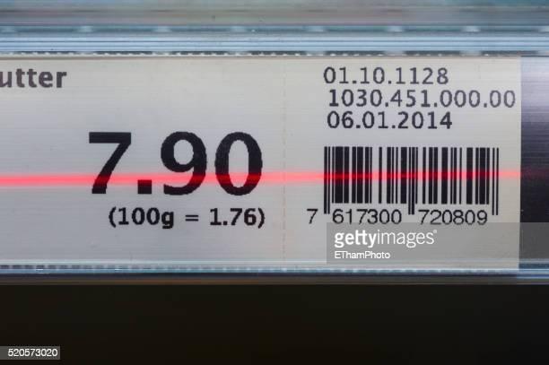 Self-scanning in supermarket (Migros Switzerland / Subito)