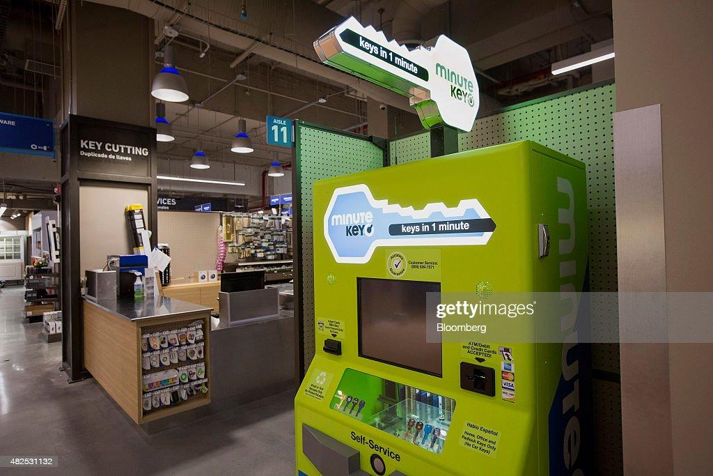 self service key machine locations