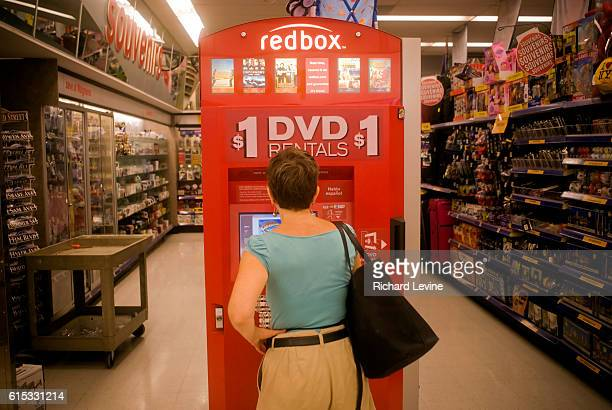 A selfservice Redbox video rental kiosk is seen in a Walgreen's drug store in New York on Monday September 7 2009