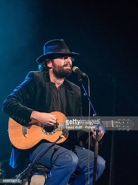 Selim opens for Louis Delort and The Sheperds at Le Trianon on October 9 2014 in Paris France