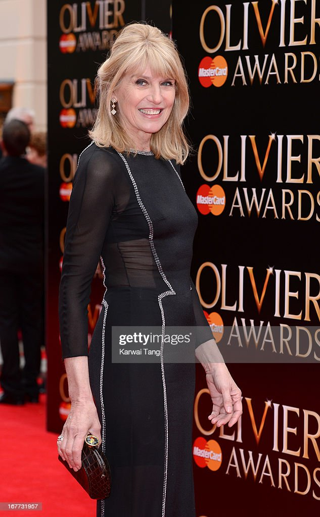 Selina Scott attends The Laurence Olivier Awards at The Royal Opera House on April 28, 2013 in London, England.