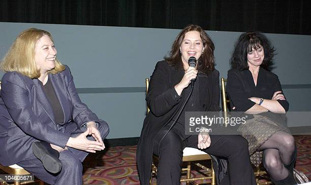 Selise Eiseman director of Women in Film Philippa Boyens and Fran Walsh co writers of 'The Lord of the Rings'
