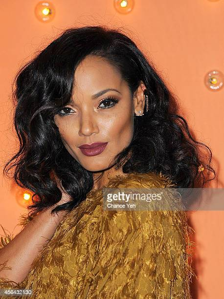 Selita Ebanks attends 15th Annual New Yorkers For Children Gala at Cipriani 42nd Street on September 30 2014 in New York City