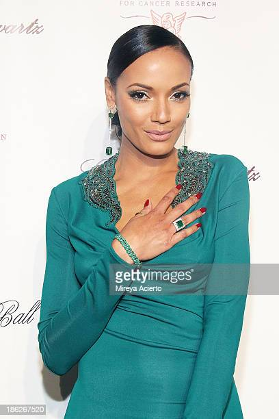 Selita Ebanks attends Angel Ball 2013 at Cipriani Wall Street on October 29 2013 in New York City