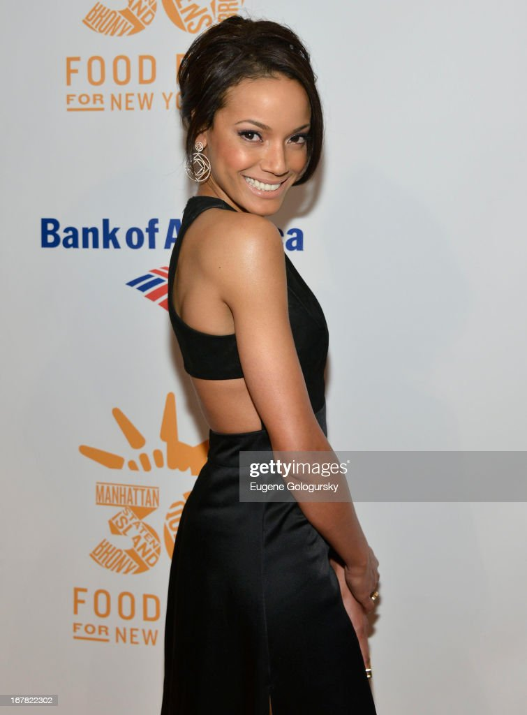 Selita Ebanks attends the 2013 Food Bank For New York City Can Do Awards at Cipriani Wall Street on April 30, 2013 in New York City.