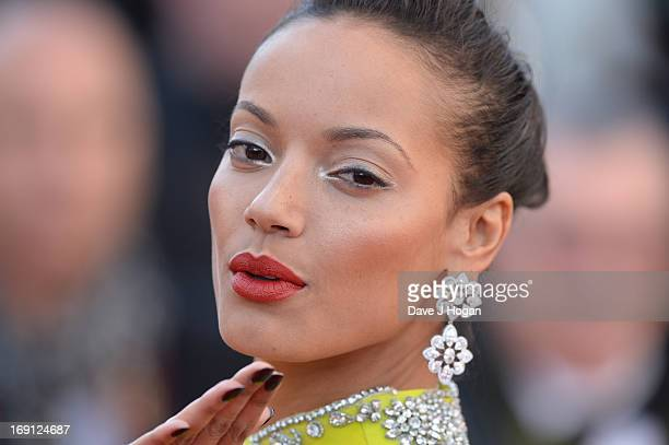 Selita Ebanks attends the 'Blood Ties' Premiere during the 66th Annual Cannes Film Festival at Grand Theatre Lumiere on May 20 2013 in Cannes France