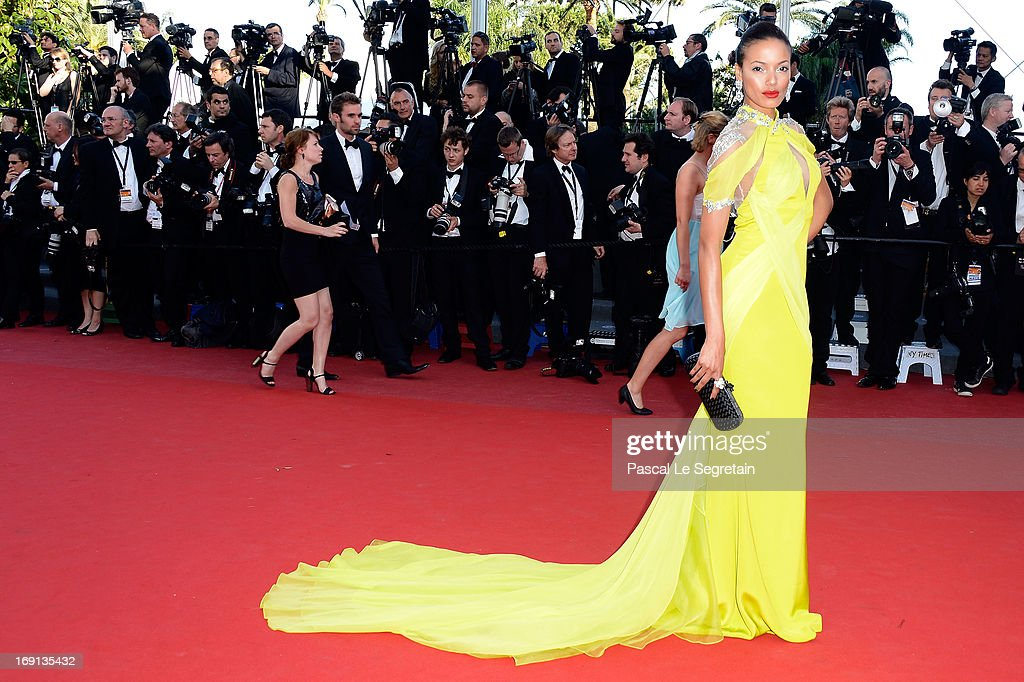 Selita Ebanks attends the 'Blood Ties' Premiere during the 66th Annual Cannes Film Festival at Grand Theatre Lumiere on May 20, 2013 in Cannes, France.