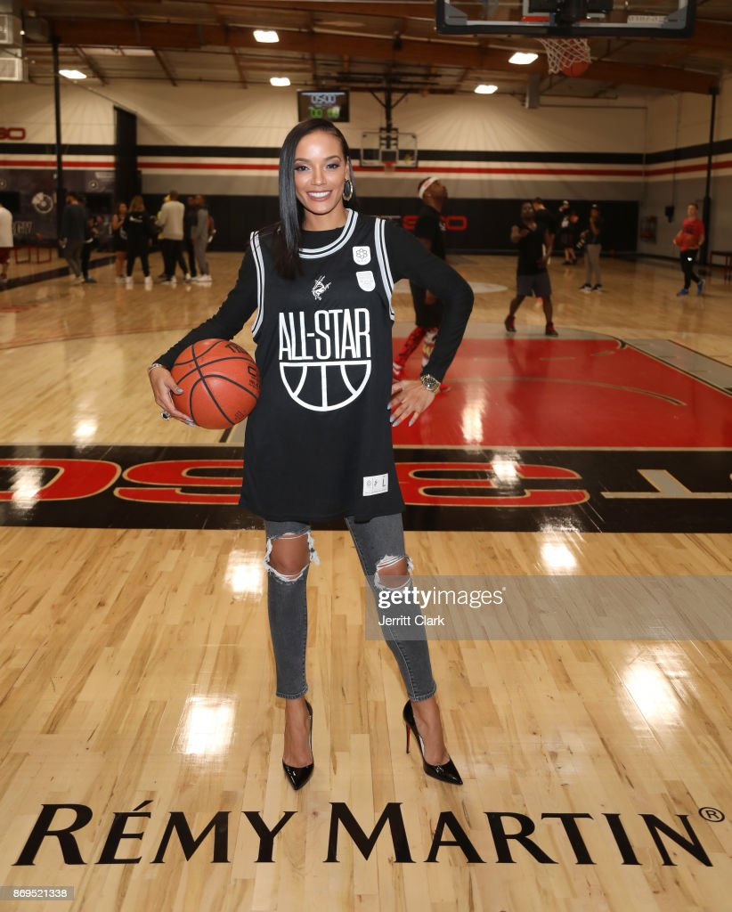 Selita Ebanks attends The Launch of The House Of Remy Martin MVP Experience at Shoot 360 on November 2, 2017 in Torrance, California.
